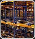 Push-Back Pallet Rack